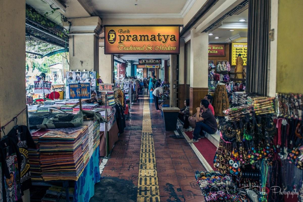 Shops on Jalan Malioboro. Yogyakarta. Java. Indonesia