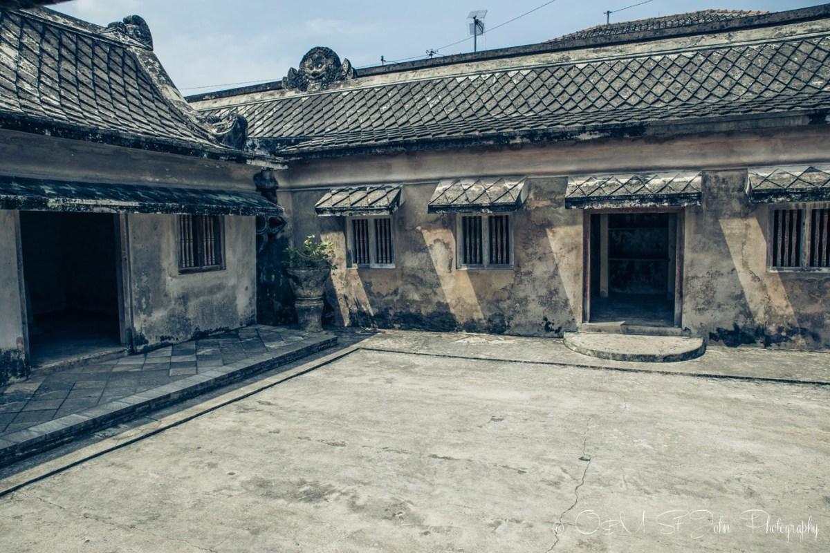 One of the ruins deep in the network of tunnels inside Taman Sari. Yogyakarta, Java, Indonesia