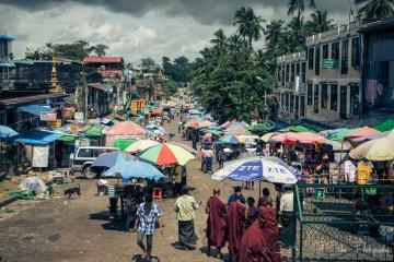 Yangon. Myanmar
