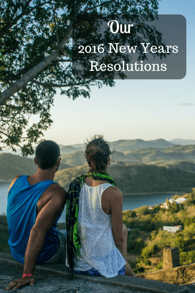 Our 2016 New Years Resolutions
