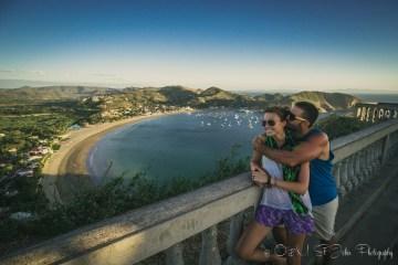 Max & Oksana overlooking San Juan del Sur. Nicaragua