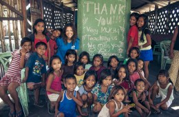 Volunteering in Philippines. Cover Photo