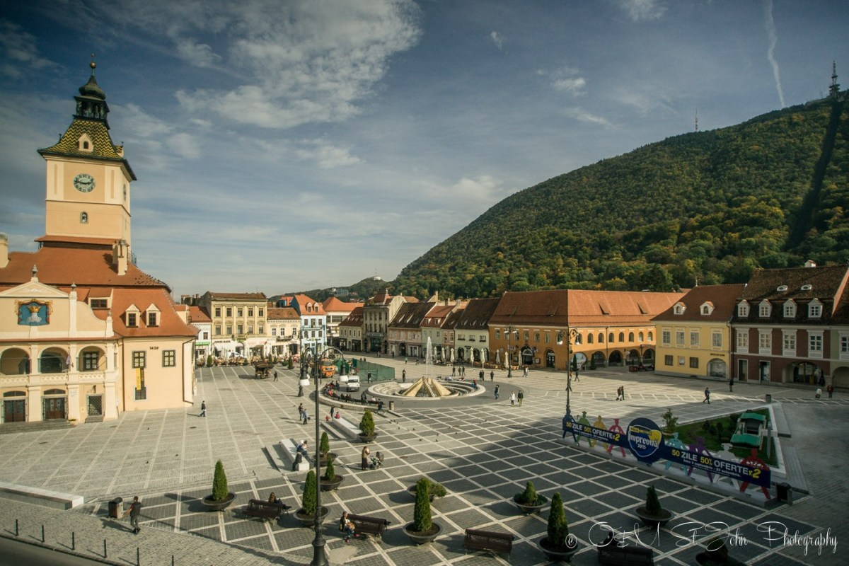 Brasov city centre, Romania