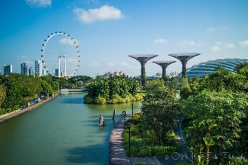 Gardens by the Bay. Singapore
