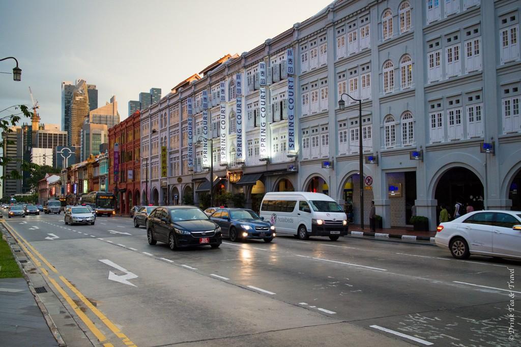 Layover in Singapore: New Bridge Road, Singapore