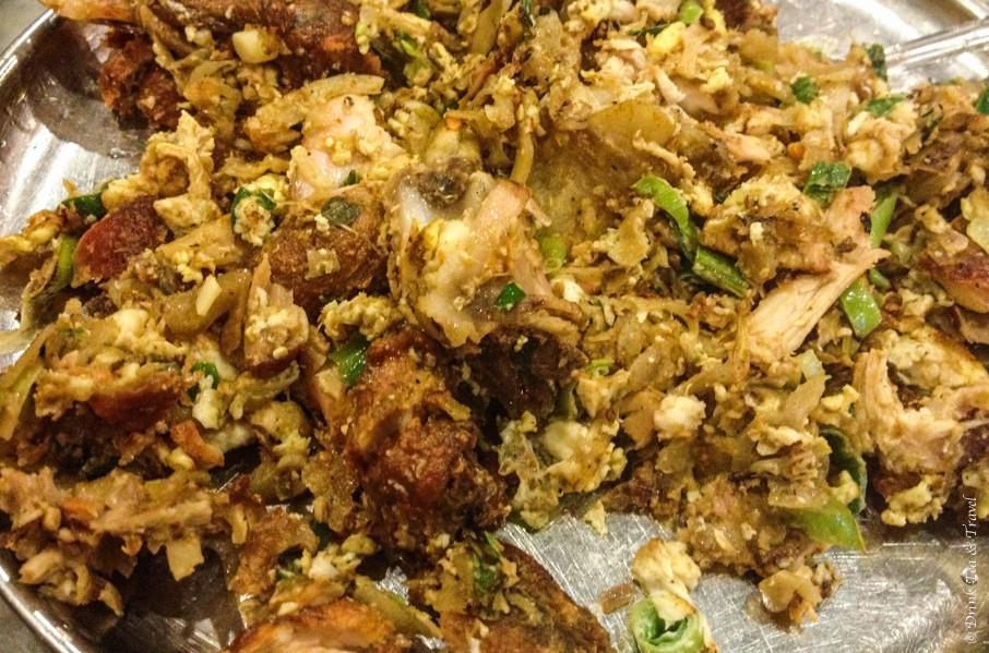 Chicken Kotthu Roti, Sri Lanka