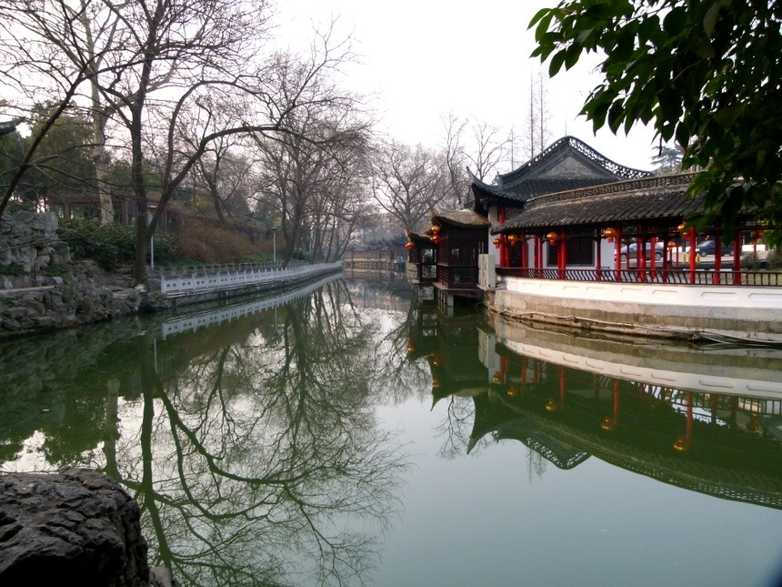 The Old Town in Yangzhou. Photo courtesy of Goats on the Road