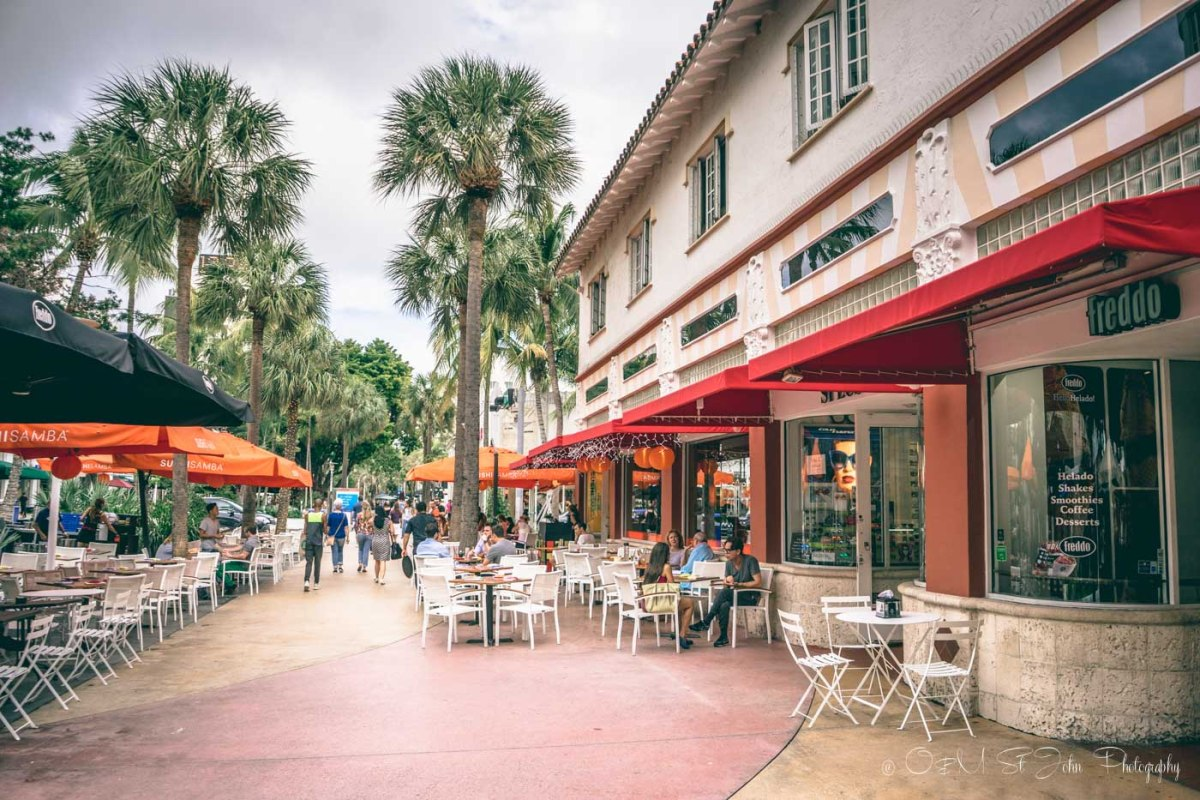 Lincoln Road Mall, Miami, Florida. USA