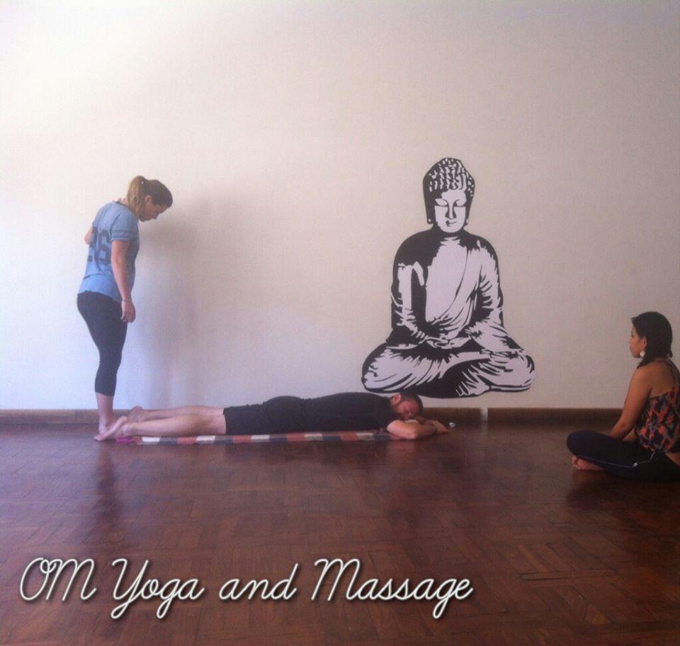 Yoga training. Photo courtesy of Two Monkeys Travel