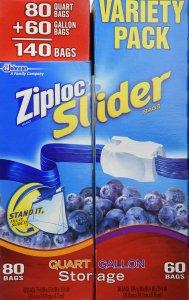 Ziplock Bags Variety pack