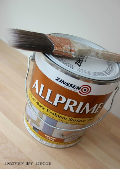 Painting Over Wallpaper Glue: Be Sure to Do This First! | Driven by Decor