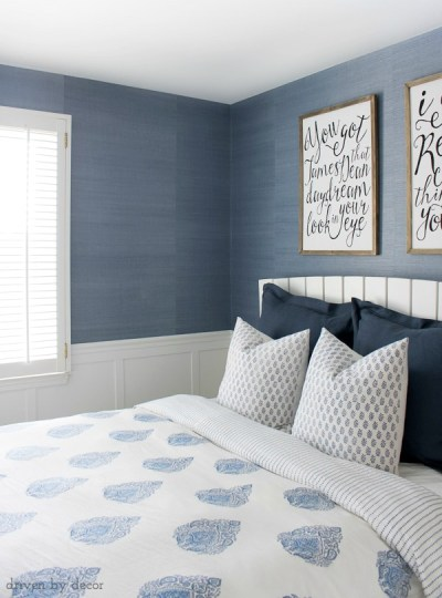 Grasscloth Wallpaper: Hanging How-To Tips | Driven by Decor