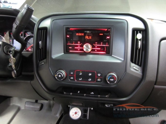 GMC Sierra Radio Upgrade Offers Marquette Client Enhanced Technology