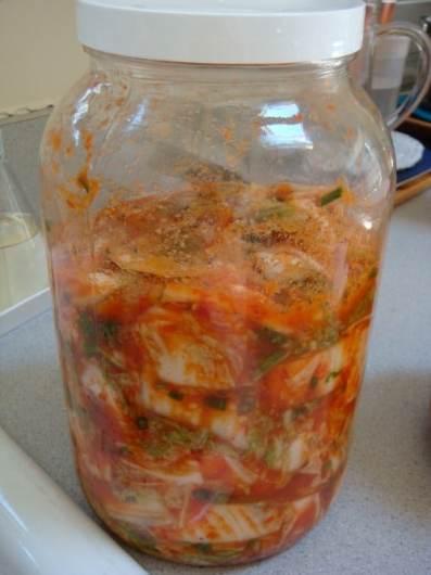 kimchi bottle