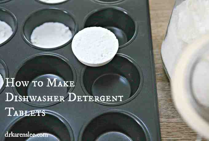 Non-Toxic Dishwasher Detergent Tablets