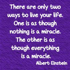 Albert Einstein Miracle