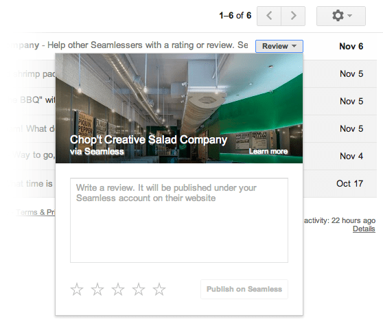 gmail popouts