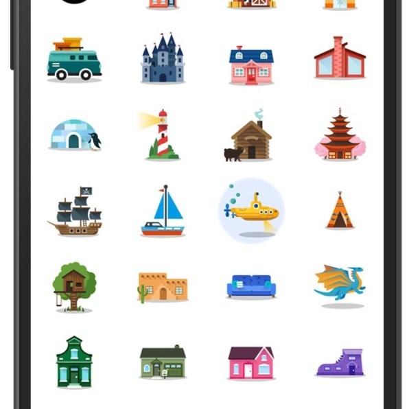 Google karte ikonice