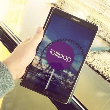 Galaxy Tab S 8.4 Lollipop update