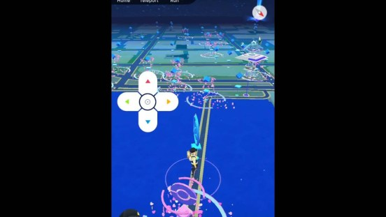 pokemon go walking hack android