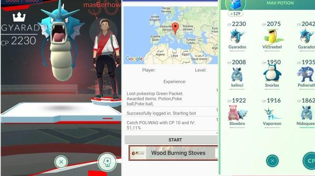 Pokemon Go Bot Go Simulator