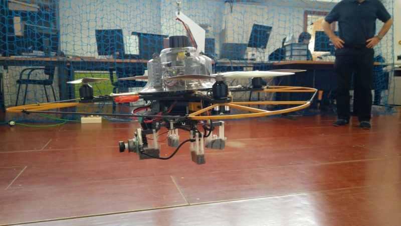drone investigación
