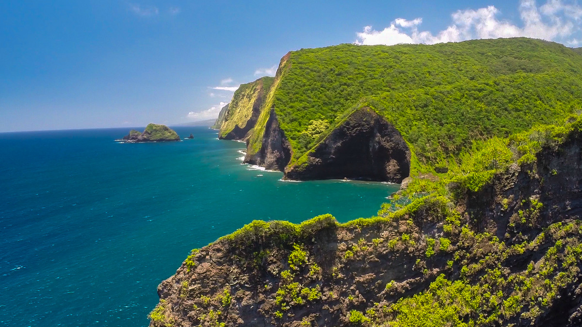 Hamakua Coast  Big Island  Hawaii   Dronestagram Hamakua Coast  Big Island  Hawaii