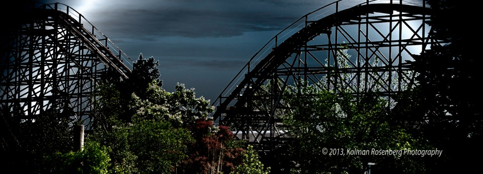 Someone Flew A Drone Over Abandoned Geauga Lake Amusement Park & Its Depressing As Hell
