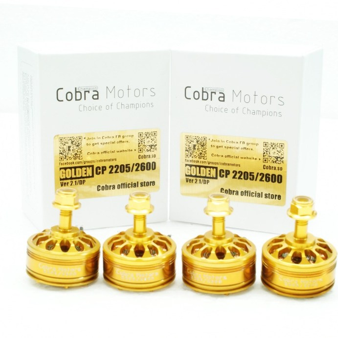 Golden Cobra Champion Motors 2205