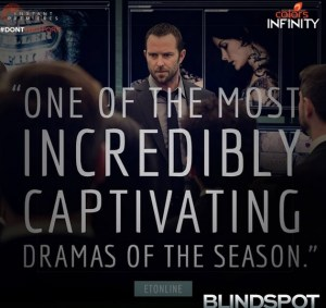 Plot of 'Blindspot' Colors Infinity New Series