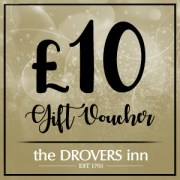 Drovers Inn Gift Vouchers £10