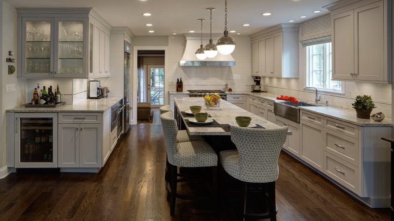 Large Of L Shaped Kitchen
