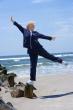 Balance on Beach