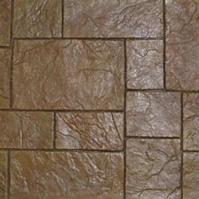 Stamped concrete patterns.