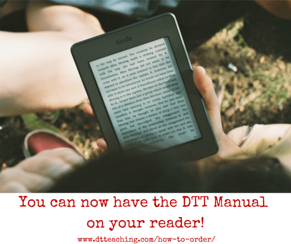 You can now have the DTT Manual on your