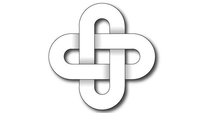 Nudos Celtas — Nudo de Salomón