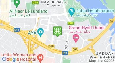 Dubai Healthcare City Metro Station - Dubai Online