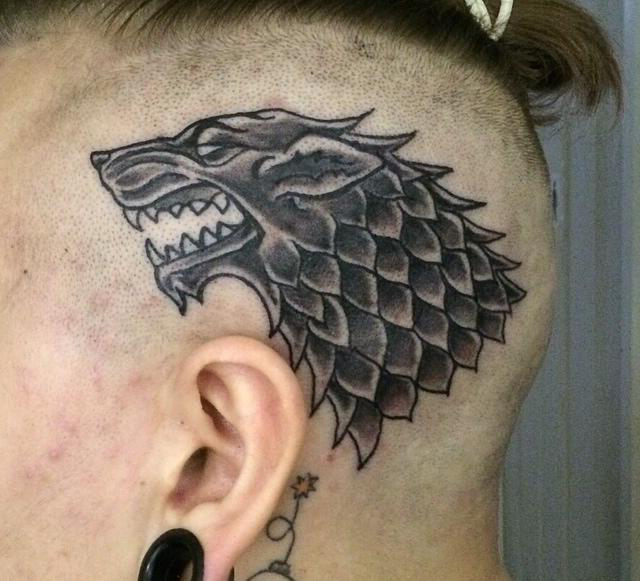 best tattoo collection game od thrones wolf head tattoo design. Black Bedroom Furniture Sets. Home Design Ideas