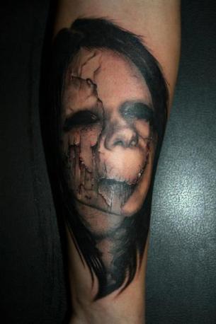 Piranha skeleton tattoo - photo#24