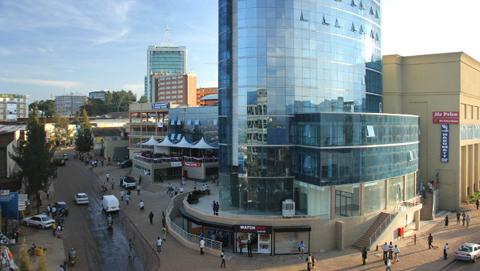 Thủ đô Kilagi, Rwanda.