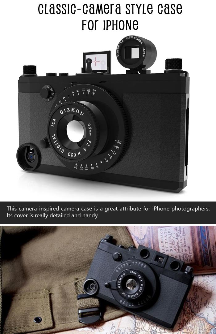 Classic-Camera Style Case for iPhone