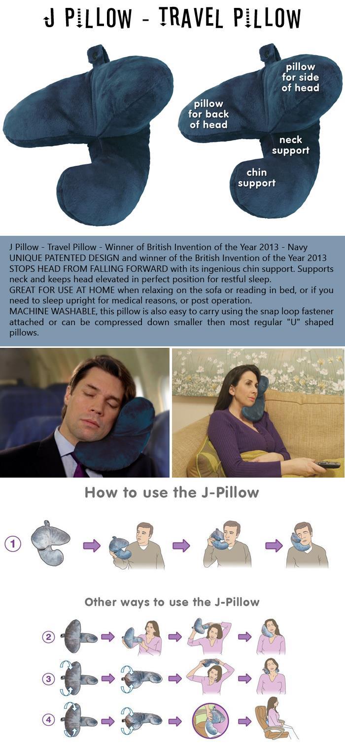 J Pillow - Travel Pillow