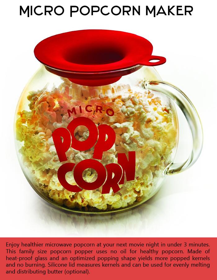 Micro Popcorn Maker