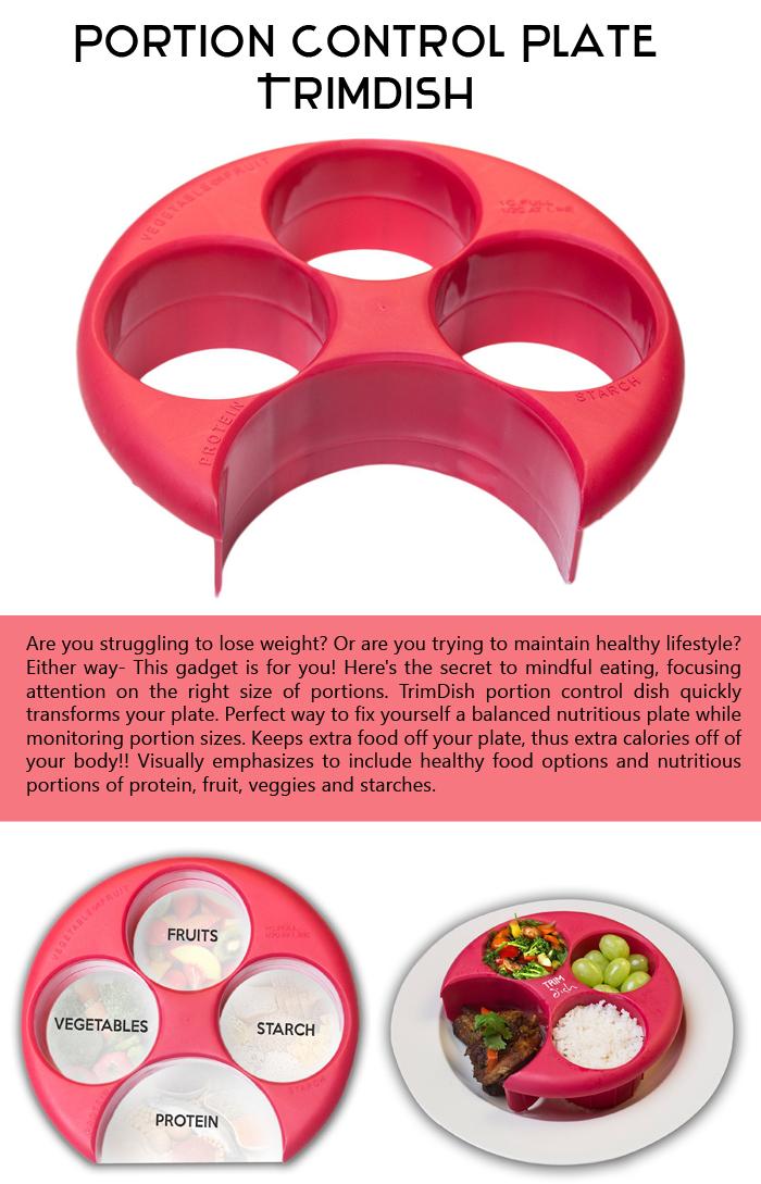 Portion Control Plate TrimDish