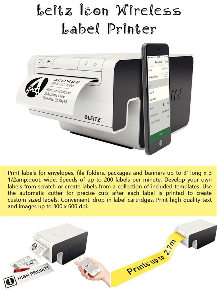 Leitz Icon Wireless Label Printer