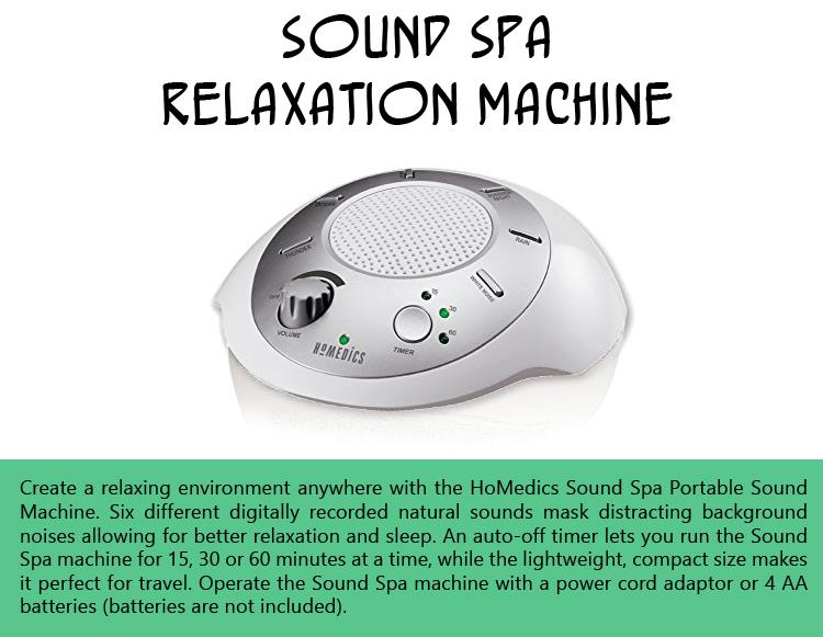 Sound Spa Relaxation Machine
