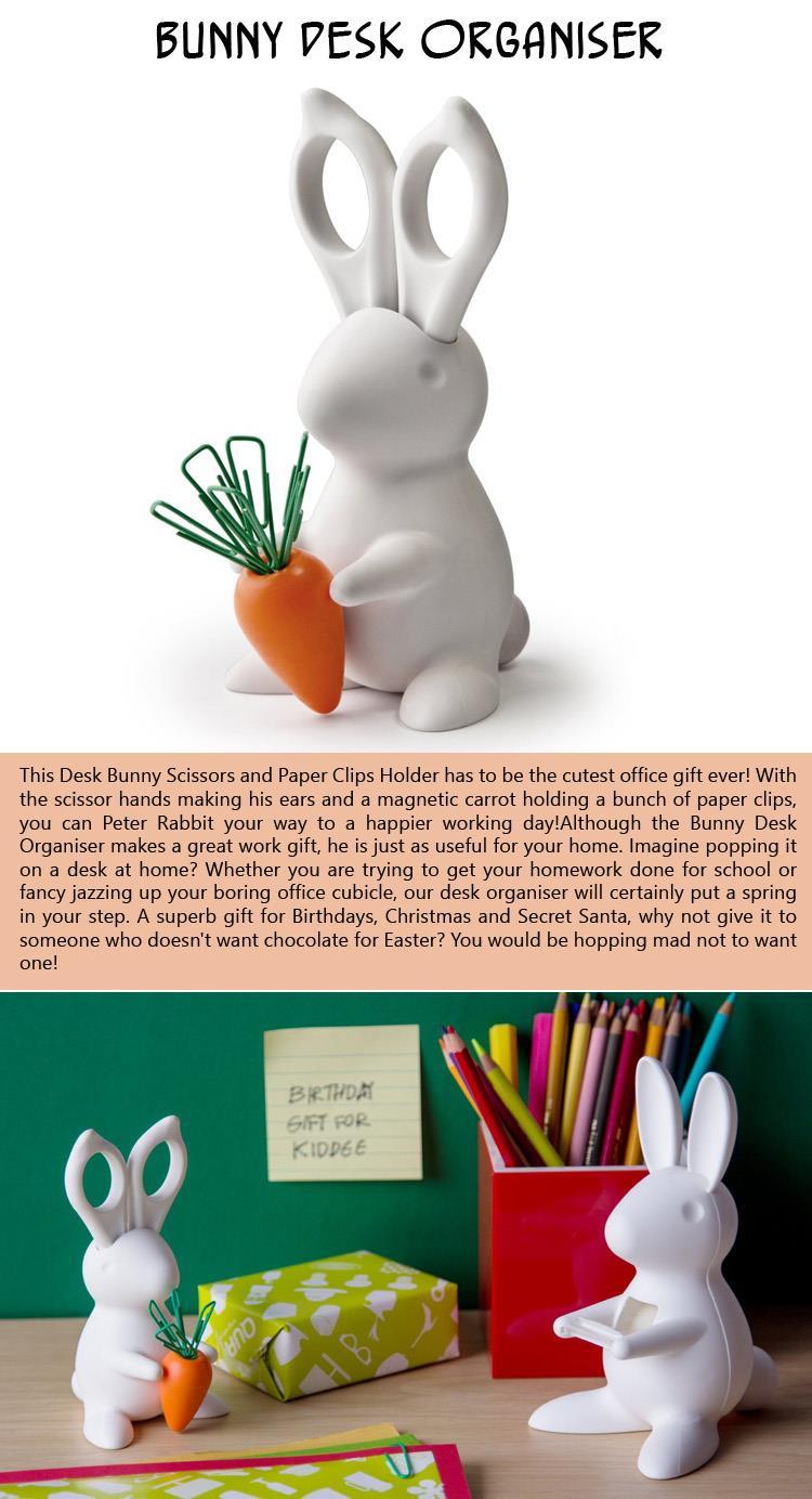 Bunny Desk Organiser