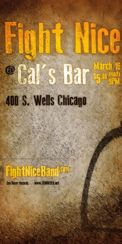 Fight Nice Cal's poster