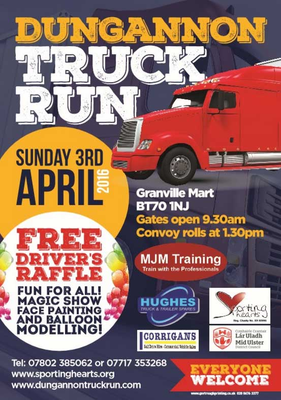 Dungannon Truck Run 2016 poster