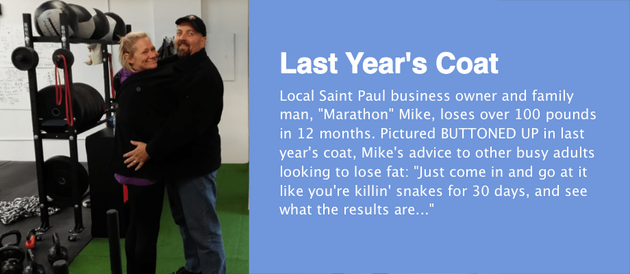 Last Year's Coat: Adult Success Story Mike Snyder